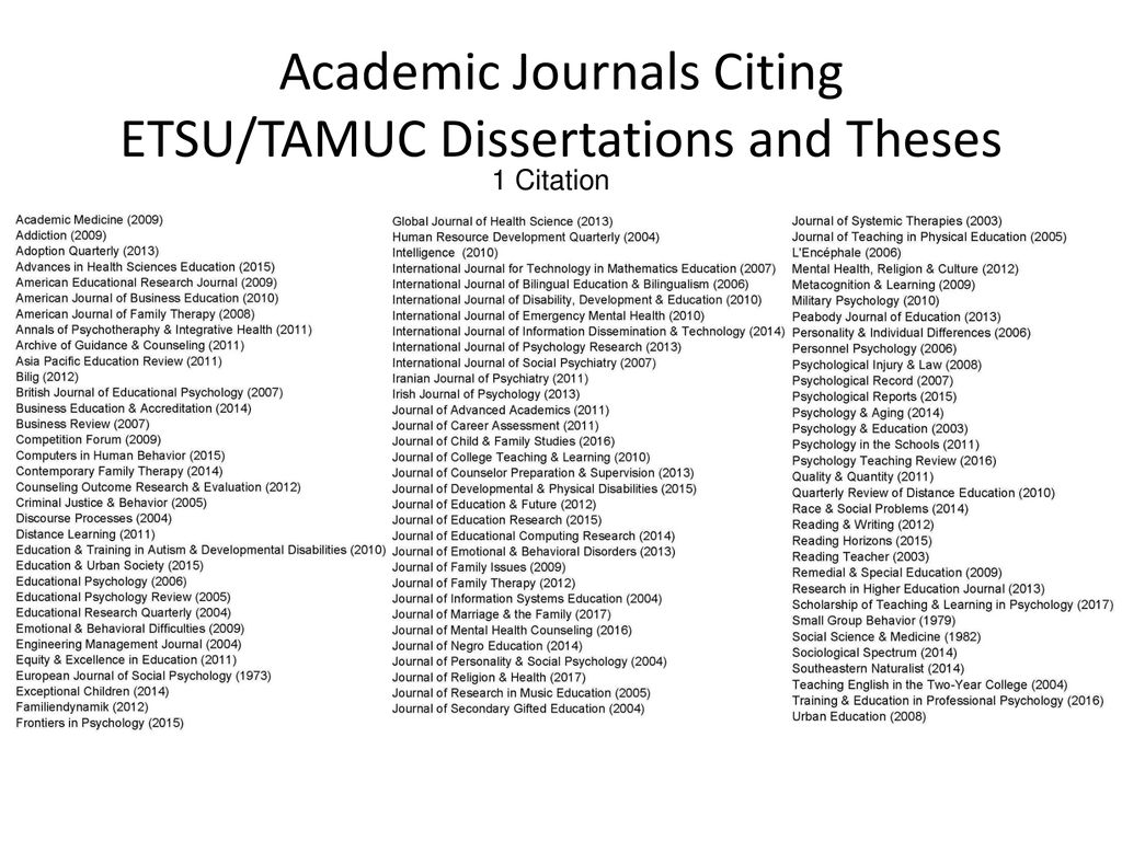 tamuc dissertation proposal