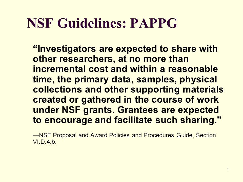 NSF Data Management Plan - ppt download