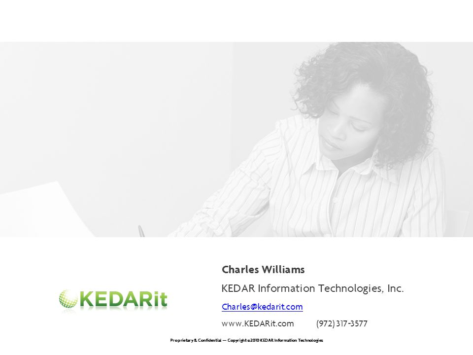 KEDAR Information Technologies, Inc.