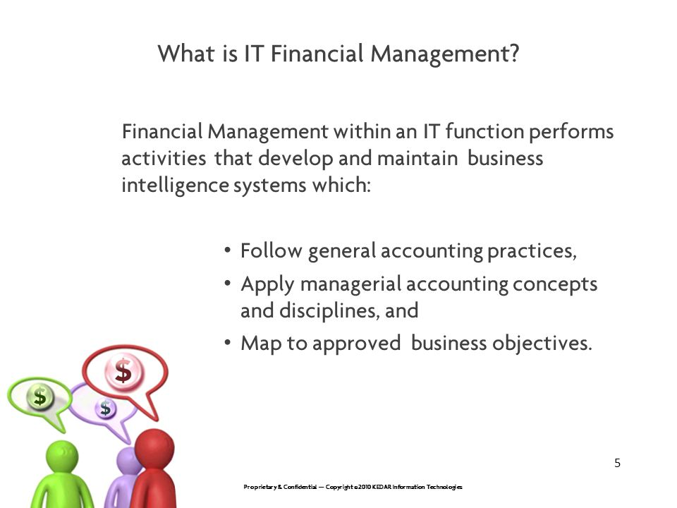 What is IT Financial Management