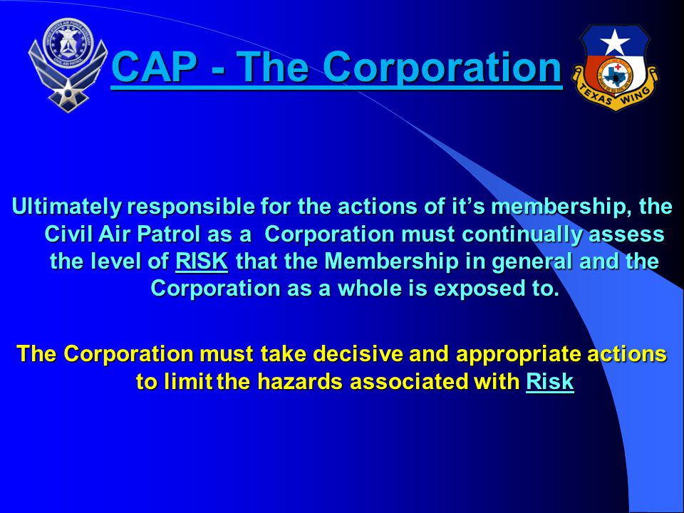 CAP - The Corporation