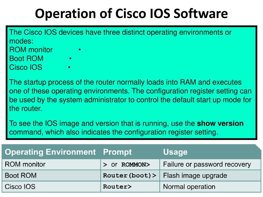 Routers & Cisco IOS  - ppt download