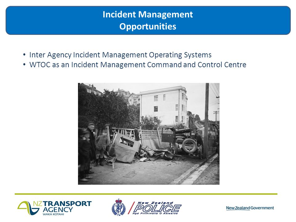 Incident Management Opportunities