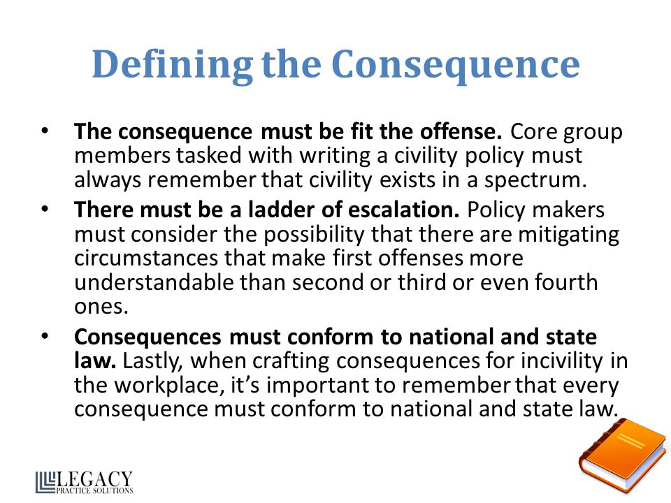 Defining the Consequence