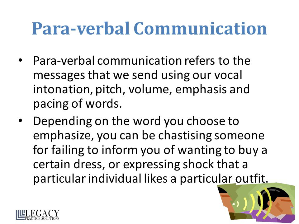 Para-verbal Communication