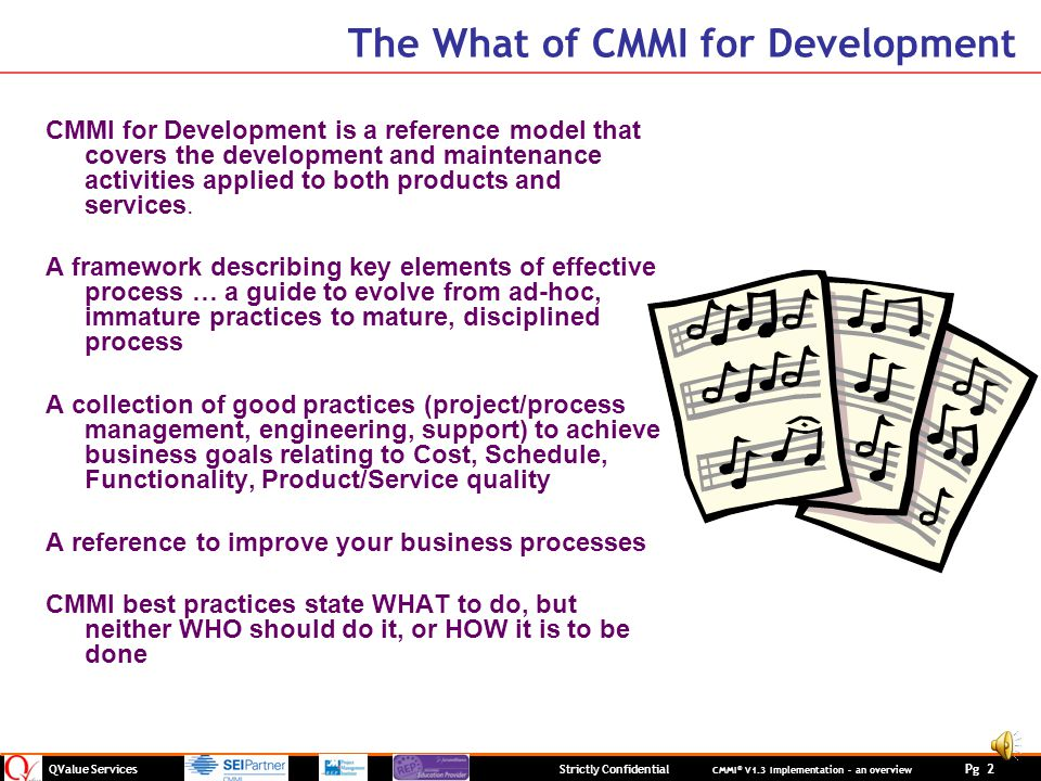 The What of CMMI for Development