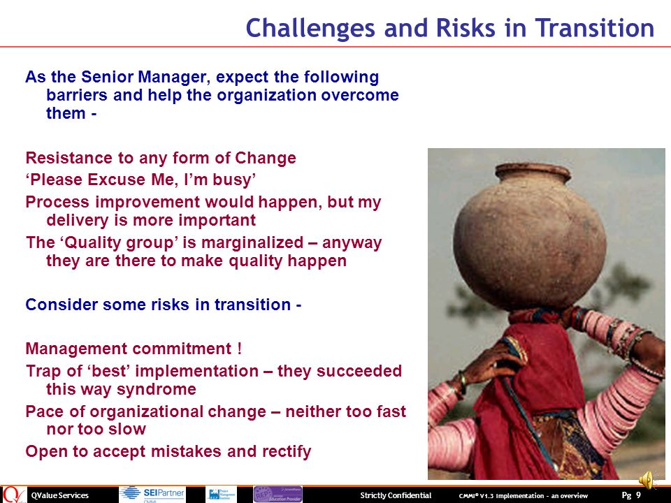 Challenges and Risks in Transition