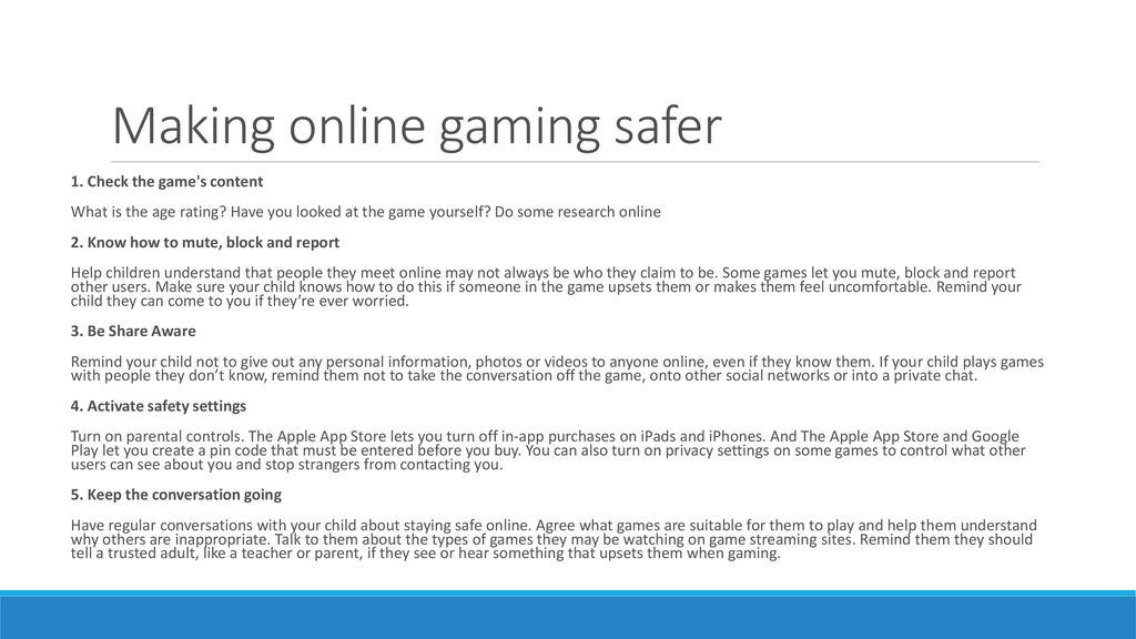 Helping your children to stay safe online - ppt download