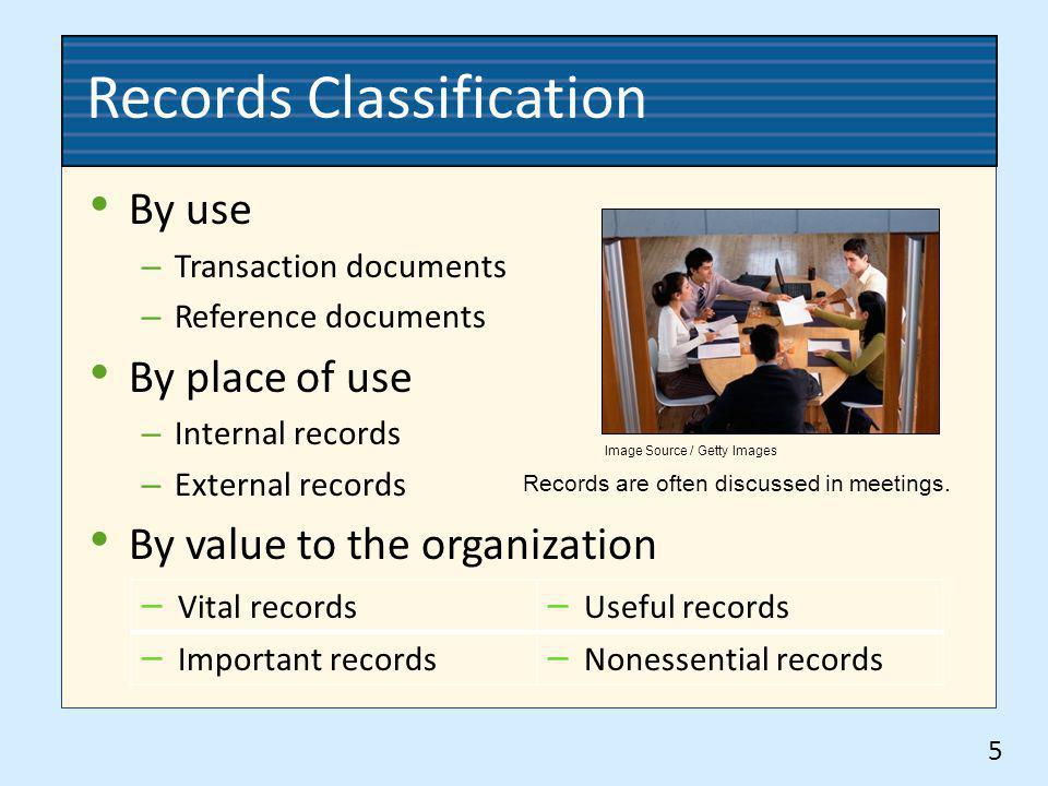 Records Classification