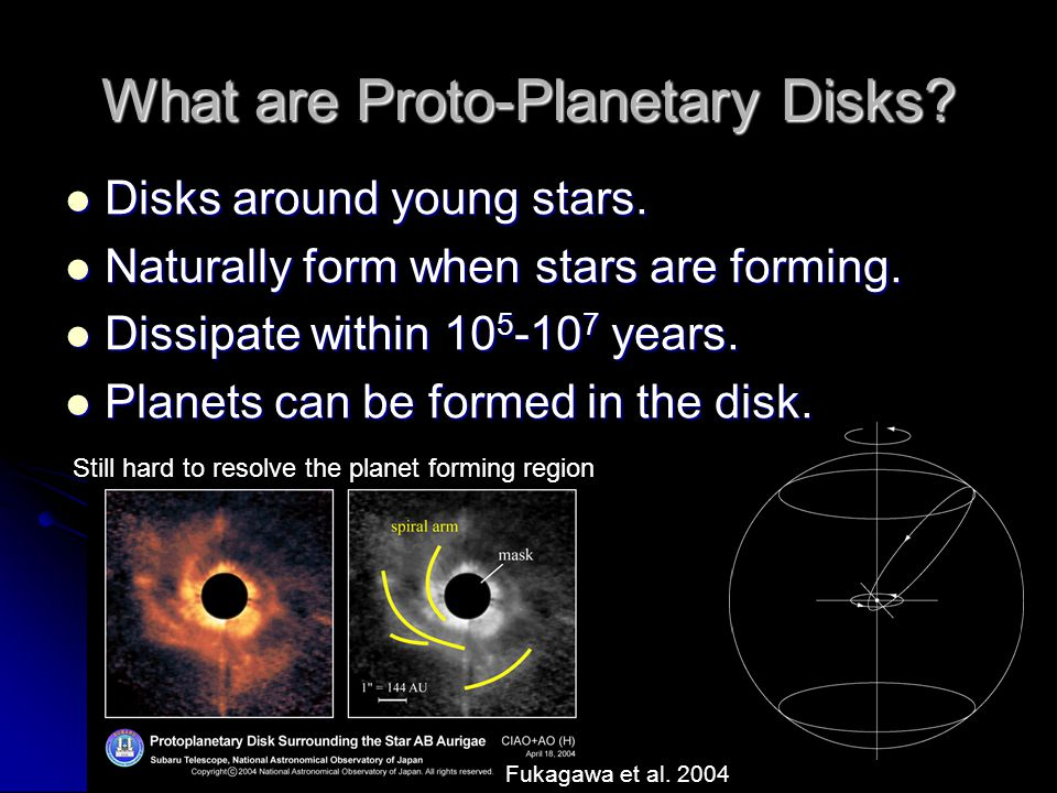 What are Proto-Planetary Disks