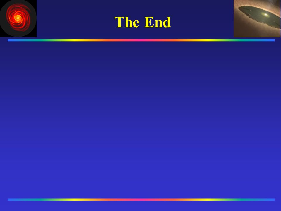 The End __________ __________