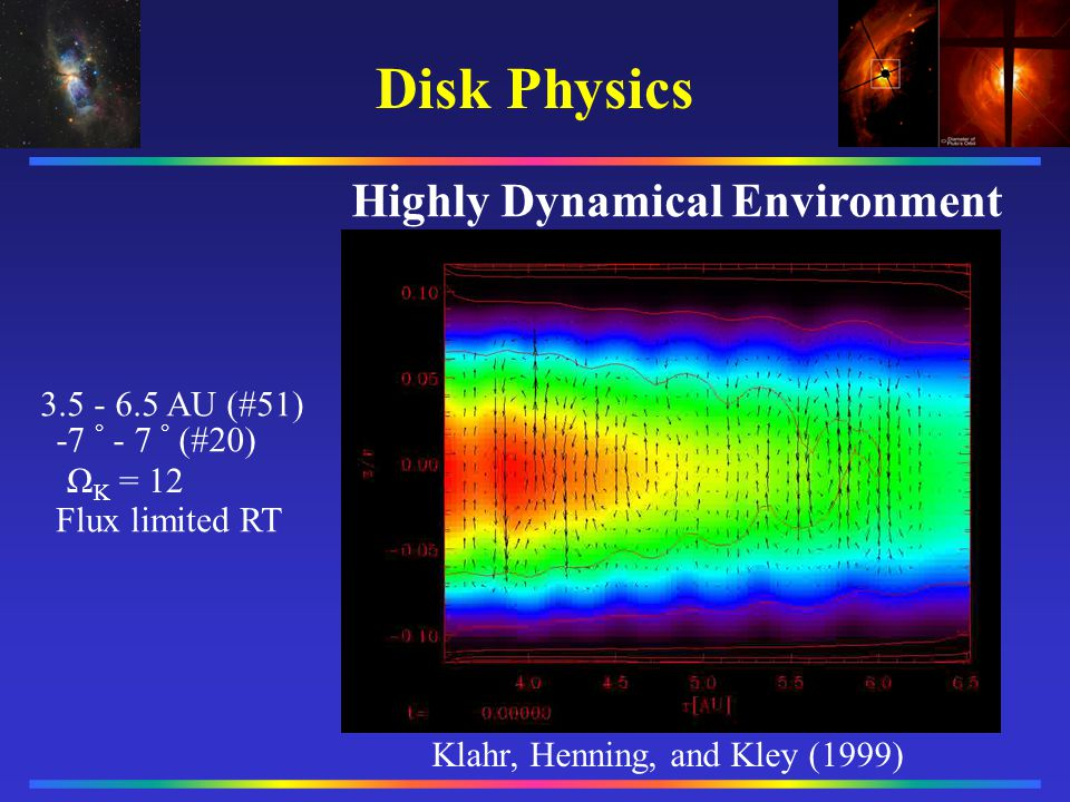Highly Dynamical Environment