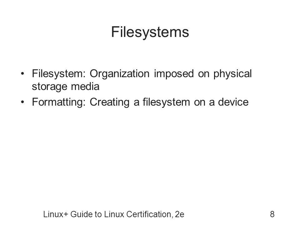 Linux Guide To Linux Certification Second Edition Ppt Video