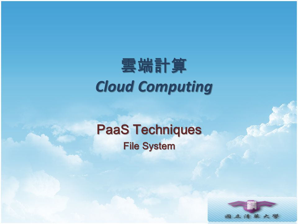 PaaS Techniques File System
