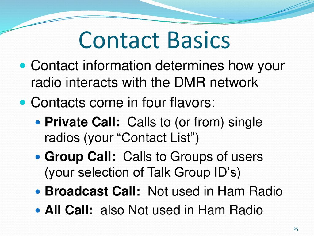 Dmr Private Call Through Hotspot