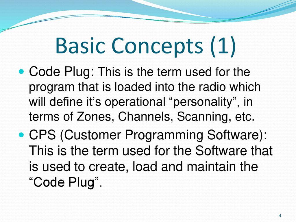 DMR CodePlug 101 TYT Model MD ppt download