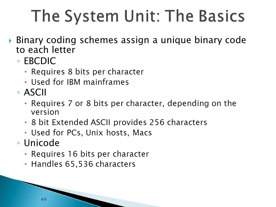 The System Unit: The Basics