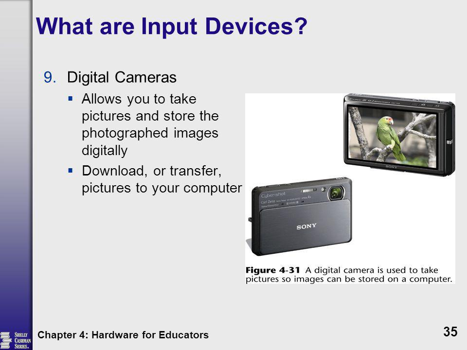 What are Input Devices Digital Cameras