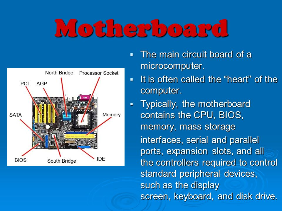 what is the heart of computer