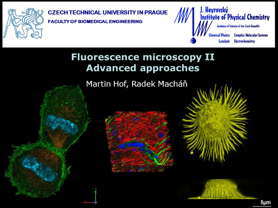Fluorescence microscopy II Advanced approaches
