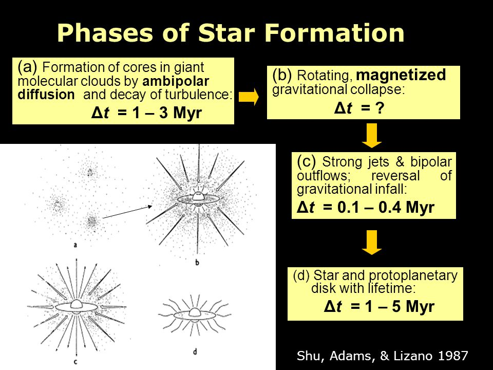 Phases of Star Formation
