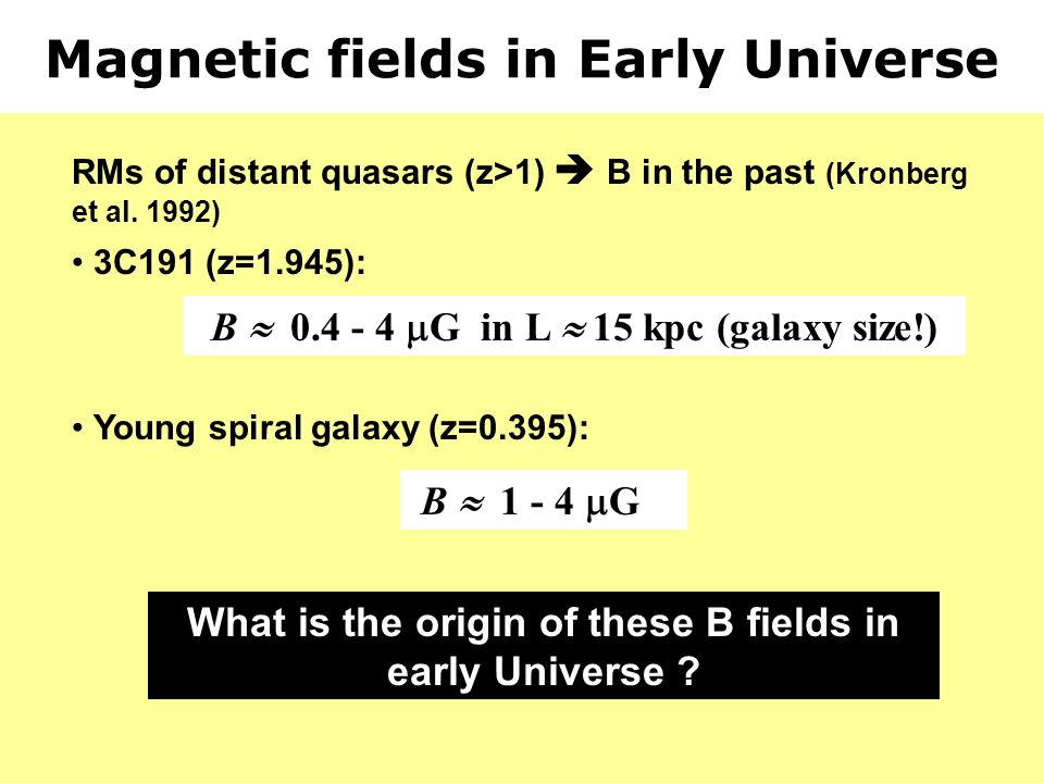 Magnetic fields in Early Universe