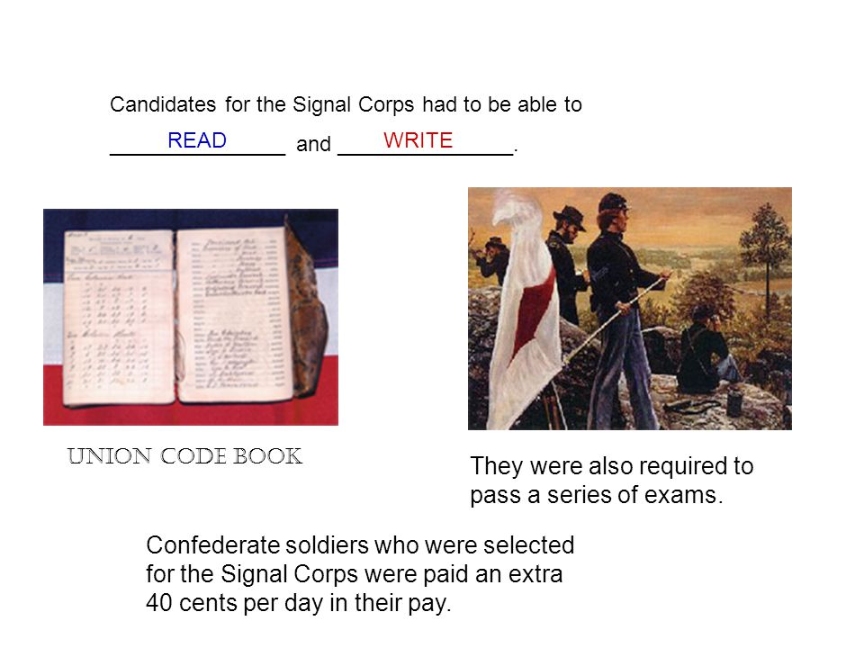 Battlefield communication during the civil war ppt video online 4 they publicscrutiny Image collections