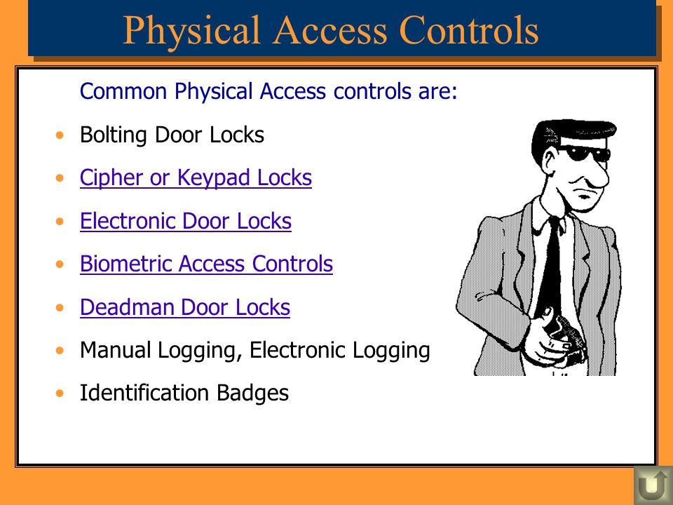 Physical Access Controls