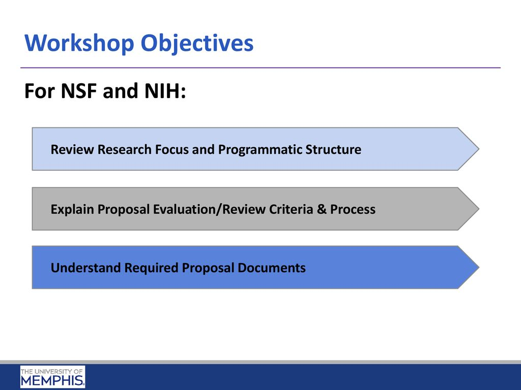 Preparing Research Proposals for NSF and NIH April 20, ppt