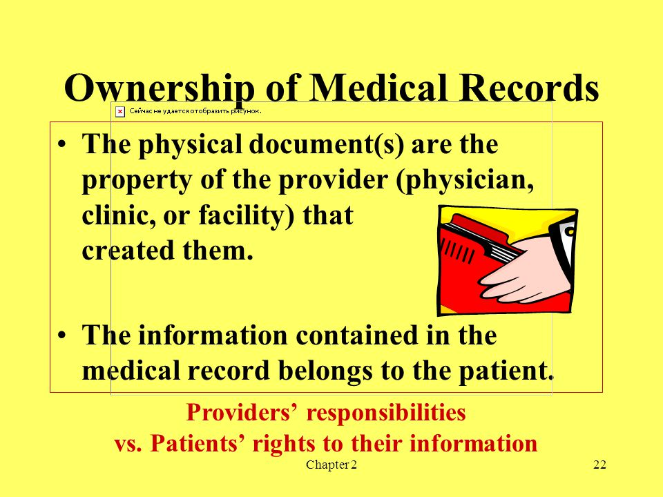 Ownership of Medical Records
