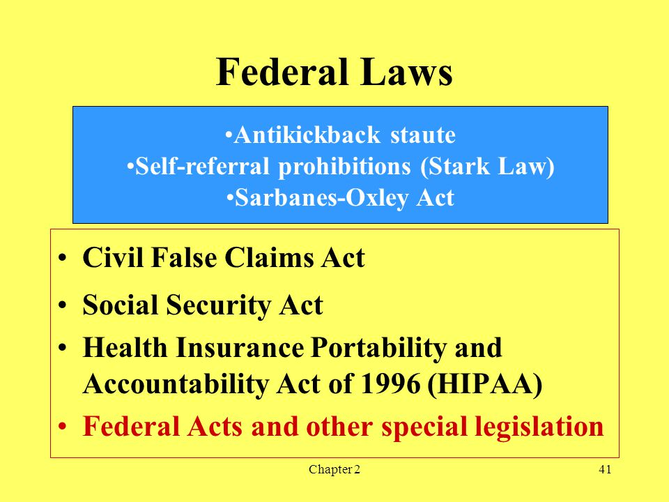 Self-referral prohibitions (Stark Law)