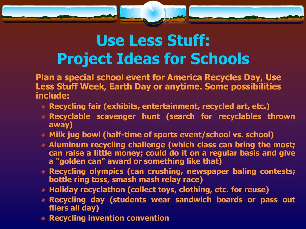 Use Less Stuff  - ppt download