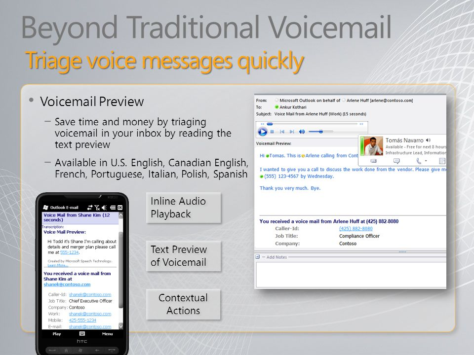 Beyond Traditional Voicemail
