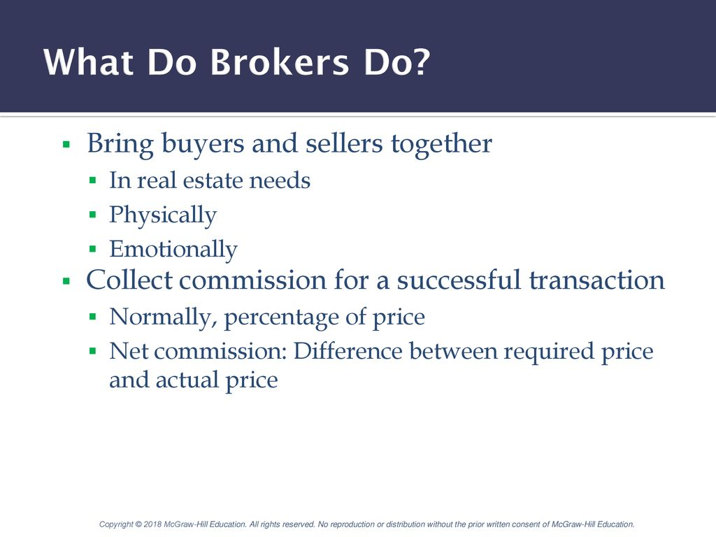 Brokers And Sellers >> Real Estate Brokerage And Listing Contracts Ppt Download