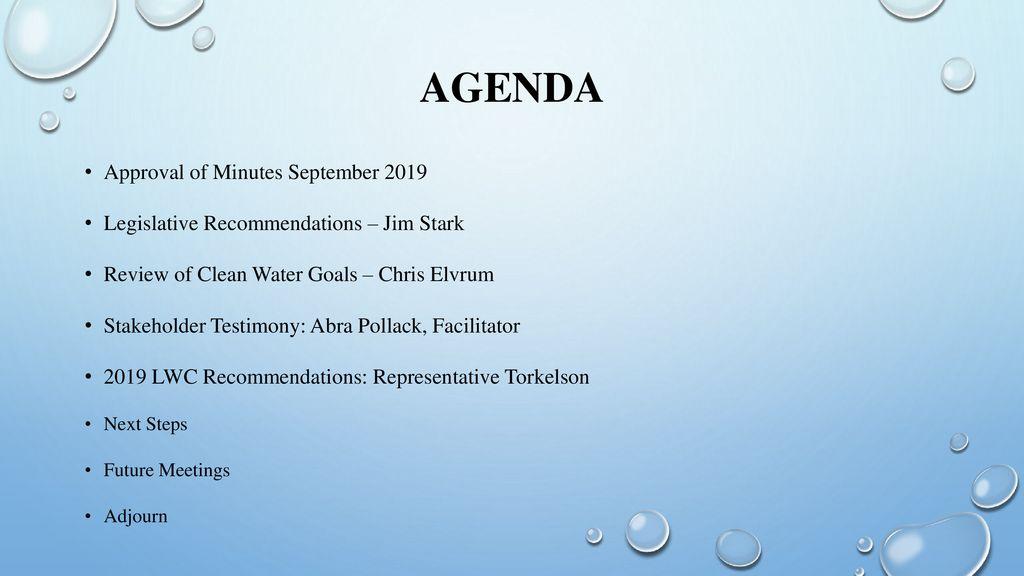 Legislative Water Commission - ppt download