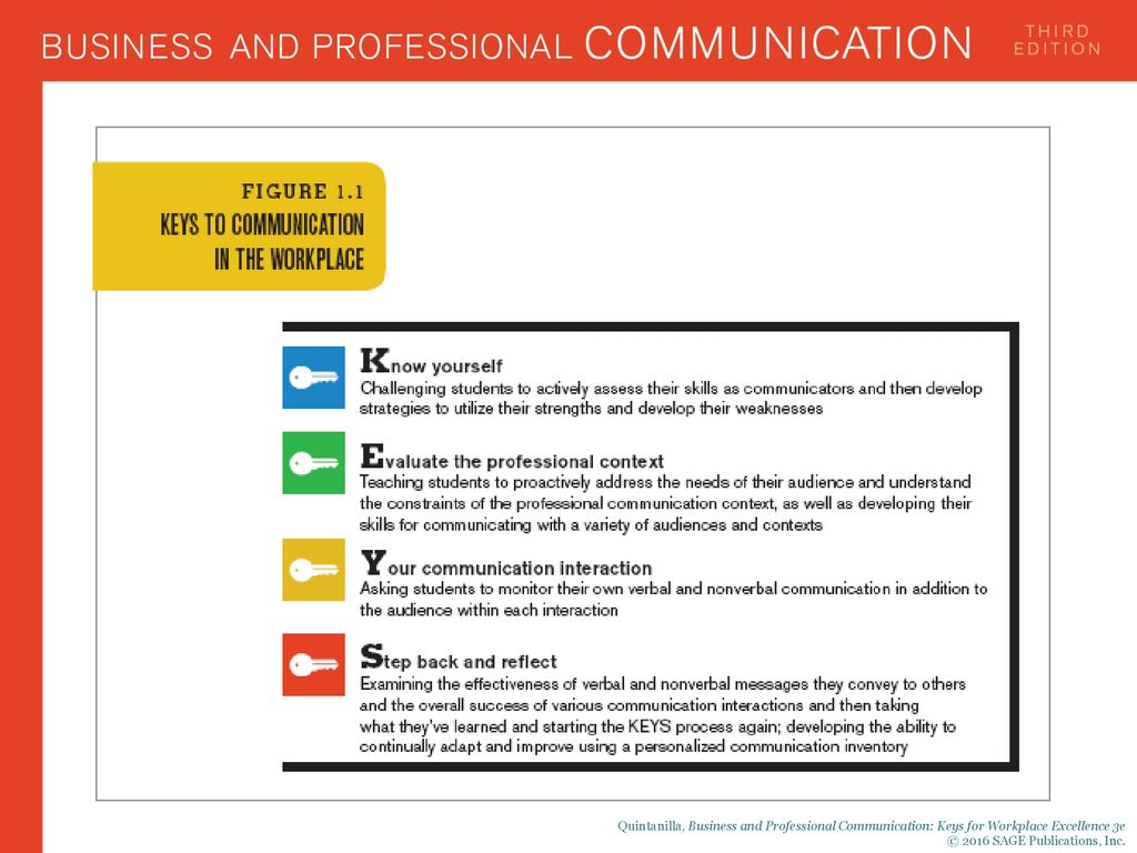 Business and Professional Excellence in the Workplace - ppt