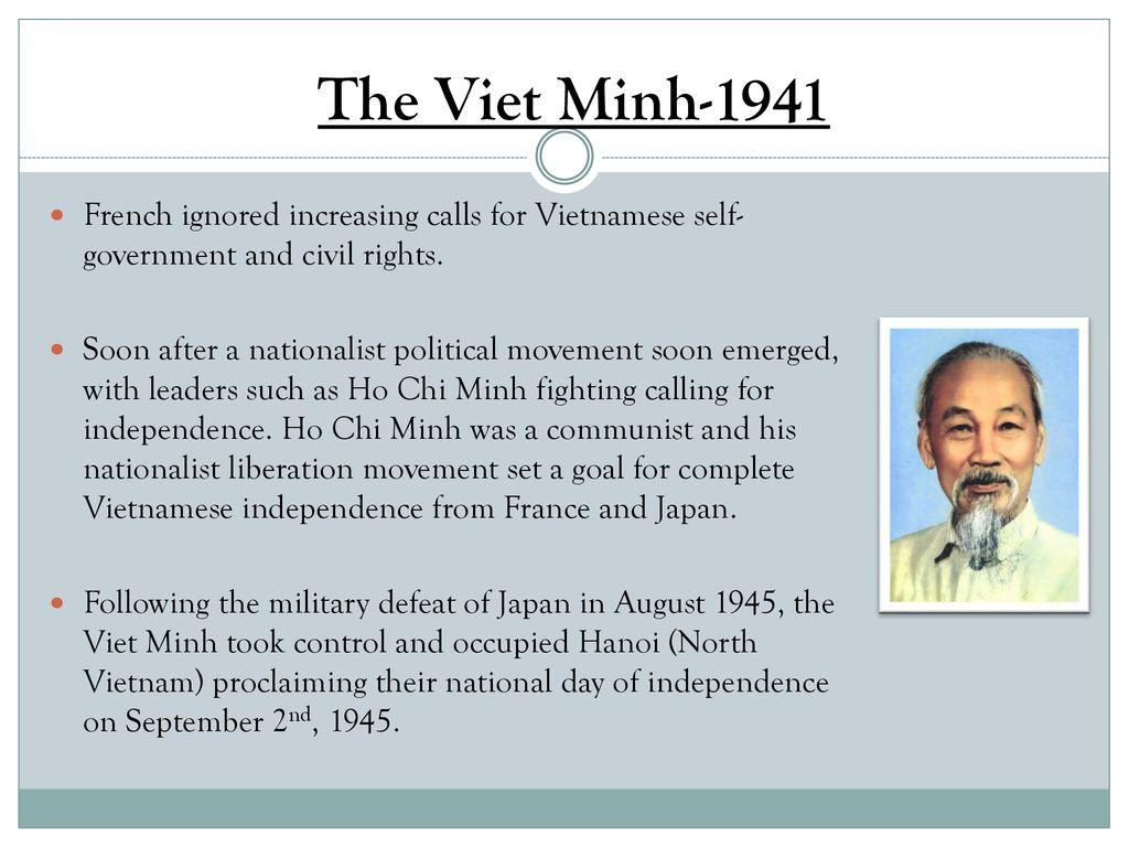 Origins of the Vietnam War - ppt download