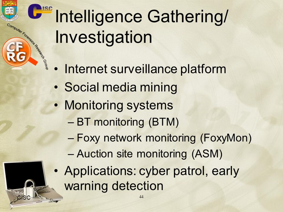 Intelligence Gathering/ Investigation