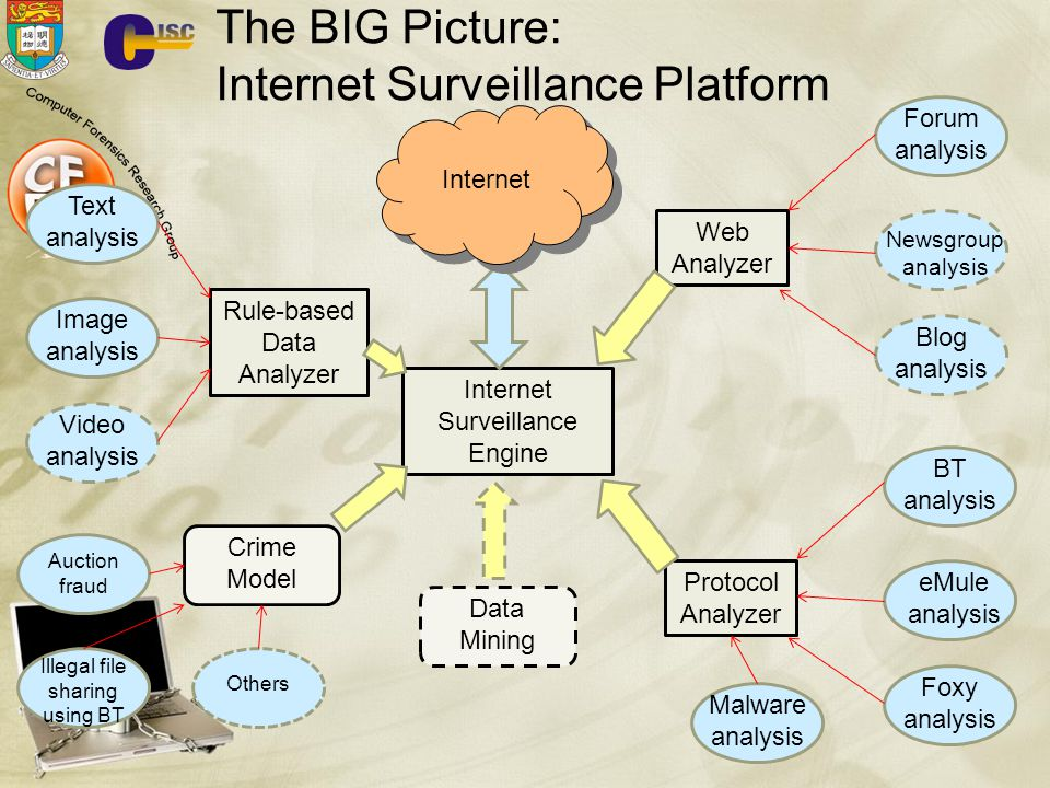 The BIG Picture: Internet Surveillance Platform