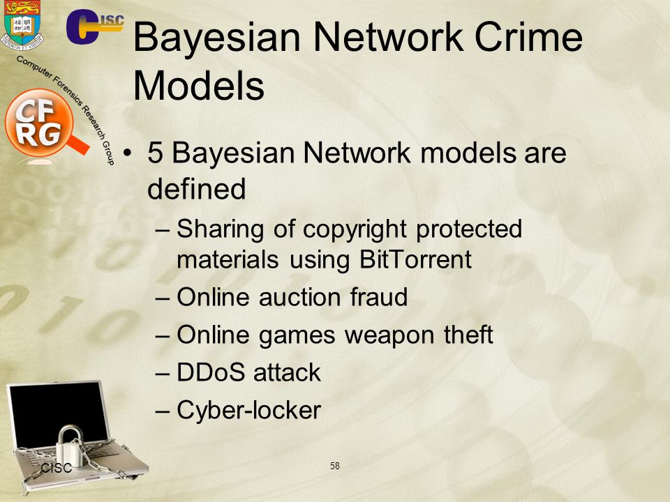 Bayesian Network Crime Models