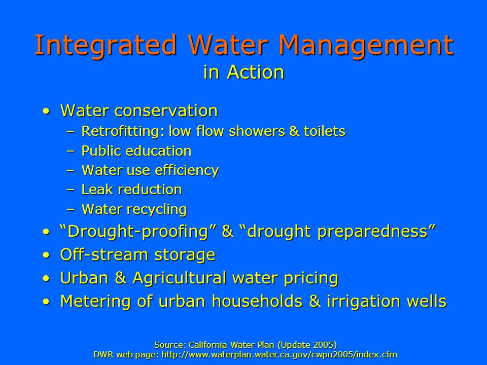 Integrated Water Management in Action