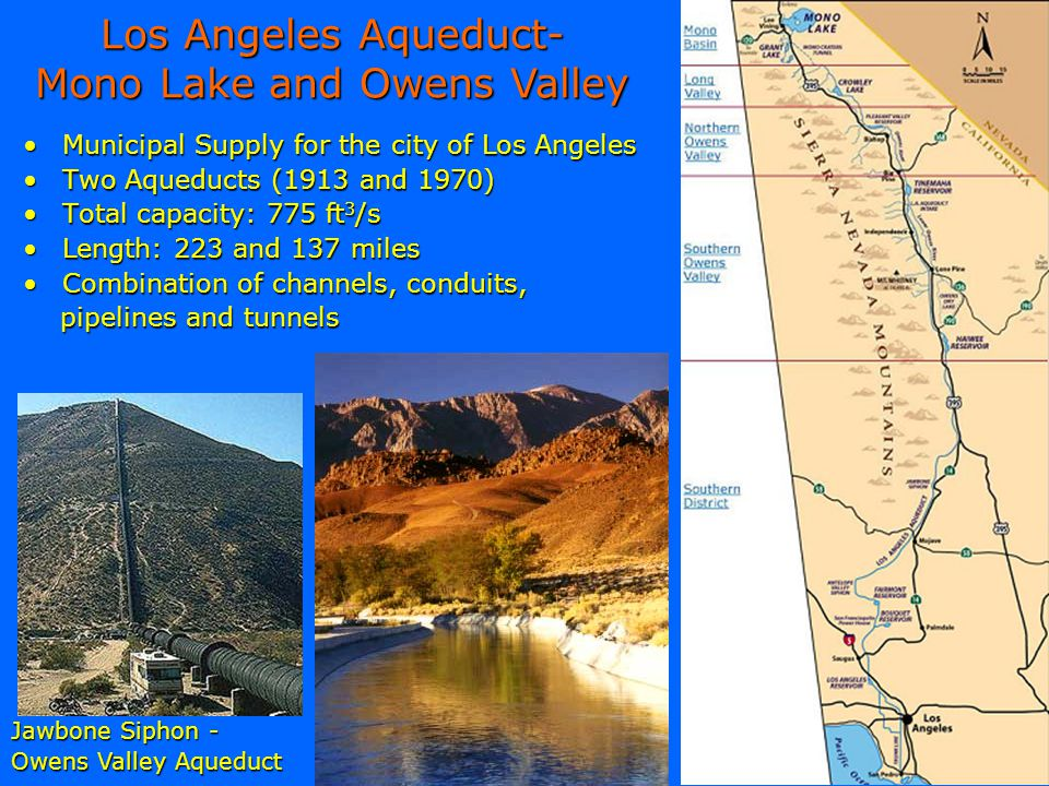 Los Angeles Aqueduct- Mono Lake and Owens Valley