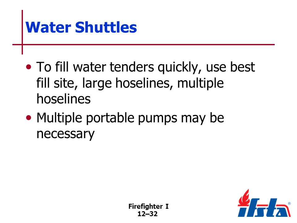 DISCUSSION QUESTION What are the advantages and disadvantages of a water shuttle operation.