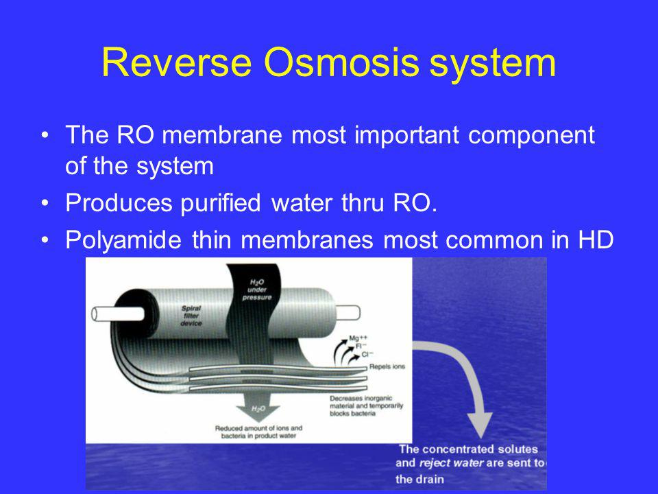Water Treatment in Hemodialysis - ppt video online download