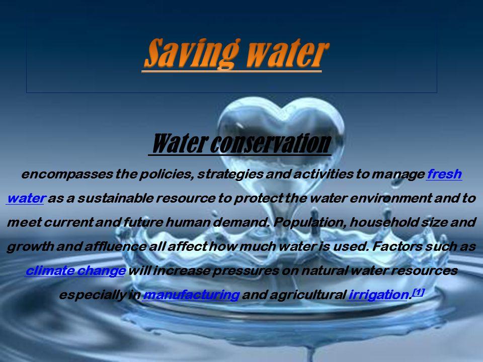 Natural Resource Conservation Efforts
