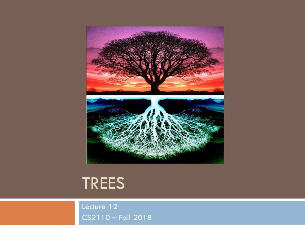 Trees Lecture 12 CS2110 – Fall ppt download