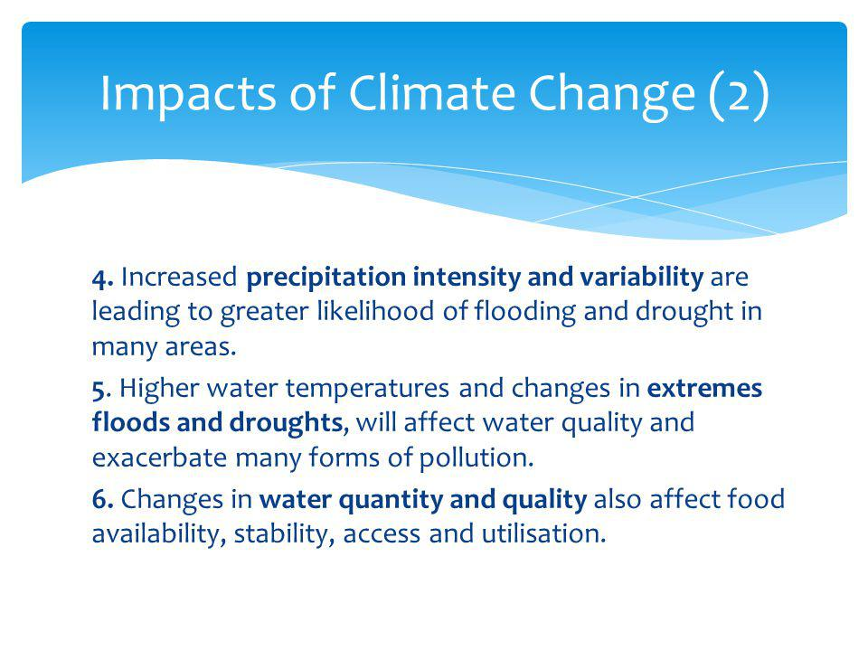 Impacts of Climate Change (2)