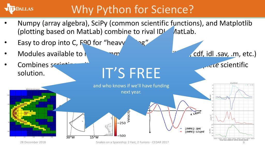 Python for Space Science - ppt download