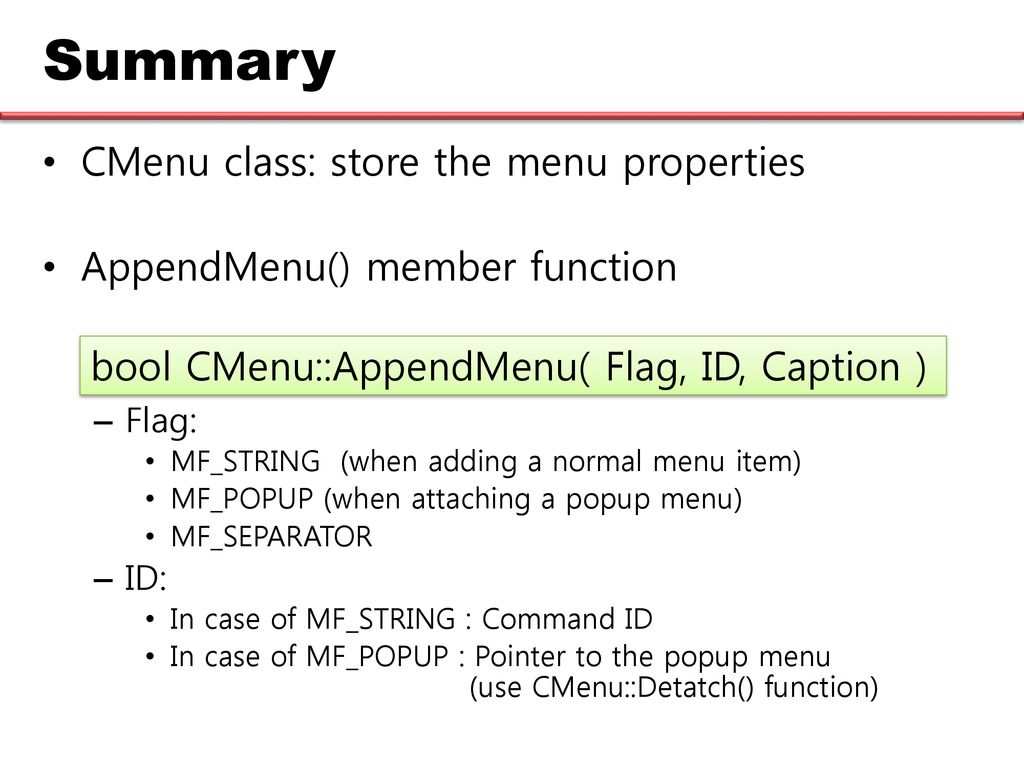 Chapter 5 The MFC Collection Classes - ppt download