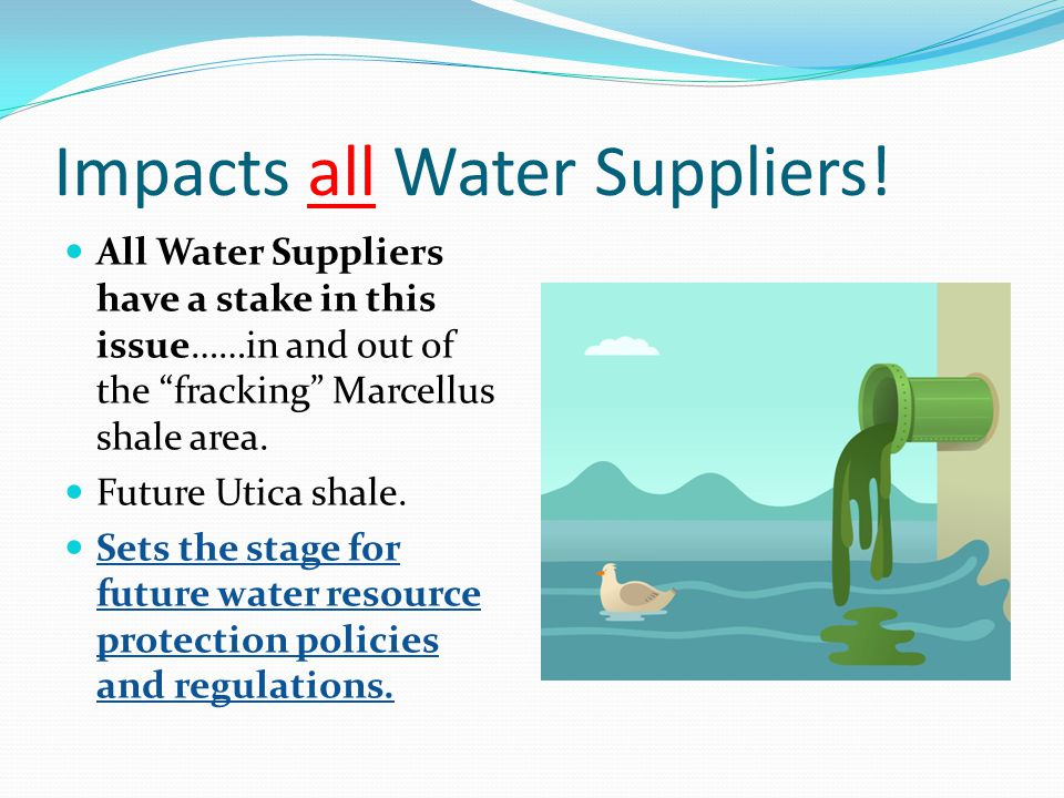 Impacts all Water Suppliers!